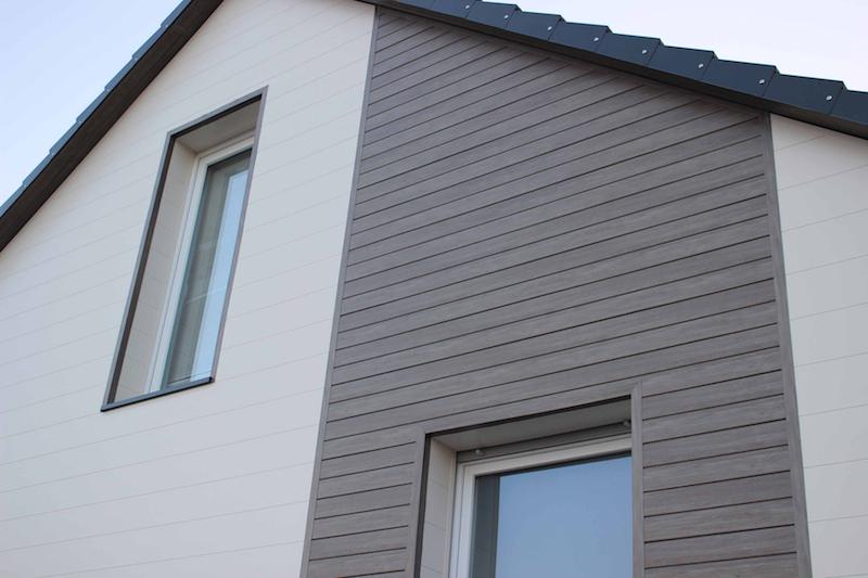Fassadenverkleidung Dekodeck V1 Holzstruktur